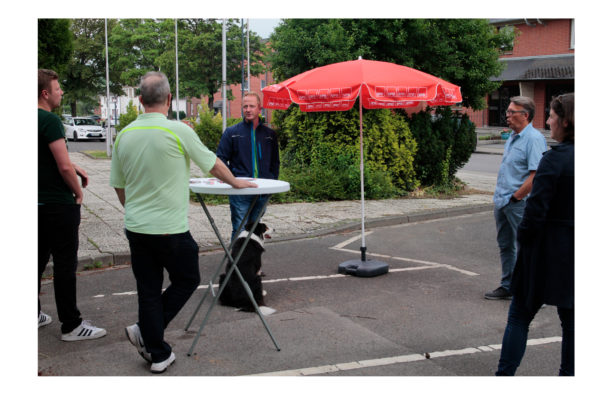 Info-Stand Kinzweiler 24.06.2021